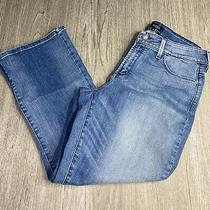 Womens Nydj Not Your Daughter's Jeans Billie Ankle Boot Jeans Blue Jeans Size 8 Photo