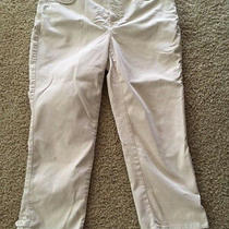 Women's Nydj Not Your Daughter's Jeans Pants Karen Capri Style Mafq1594 Sz 8  Photo
