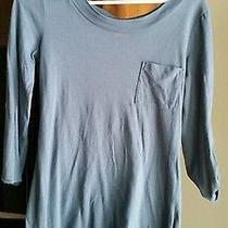 Women's Old Navy Solid Blue Shirt Photo