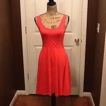 Women's Orange Dress Size Small Photo