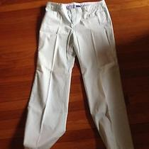 Women's Original Gap Stretch Flare Light Green Pants 14 R Photo
