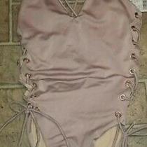 Women's Pacsun Sexy One-Piece Swimsuit Sz Xs Blush Pink Open/ Tie Sides Photo