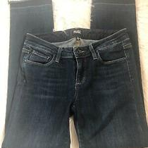 Womens Paige Dark Denim Jeans Size 26 Photo