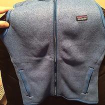 Women's Patagonia Better Sweater Fleece Vest Small Xs Oasis Blue Photo