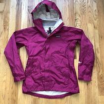 Women's Patagonia Torrentshell Waterproof H2no Rain Coat Hooded Zip Jacket Sz Xs Photo