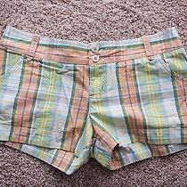 Women's Plaid Shorts Size 7 Photo