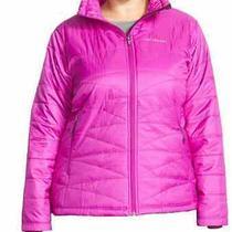 Women's Plus Columbia Morning Light Jacket Nwt 130 Omni Heat Pink 1x Photo