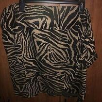 Womens Plus Size 26 Lane Bryant Animal Print Skirt Photo