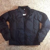 Women's Powder Room Insulated Snow & Ski Jacket Size S/p Down Filled Black Ked Photo