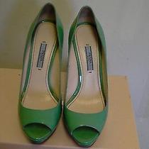 Women's Prada Classic Pump Shoes Calzature Donna Size 38 Euro Photo