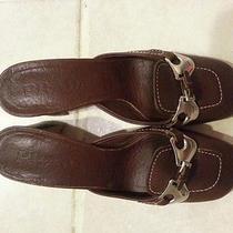 Women's Prada Mule Shoes Size 35 or 5 Photo