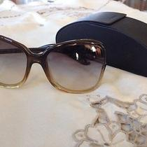 Women's Prada Ombre Sunglasses With Case Photo