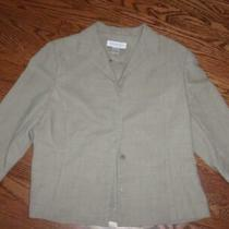 Women's Pretty Brooks Brothers Silky Feel Wool Pant Suit Size 12 Excellent Cond Photo