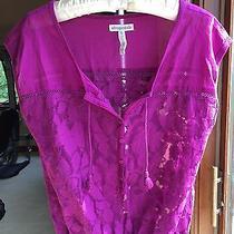 Women's Purple Aeropostale Blouse Size M Photo
