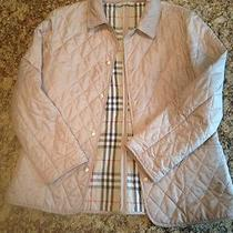 Women's Quilted Burberry Barn Jacket Photo