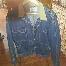 Women's Ralph Lauren Polo Barn Jacket Denim Size M Photo