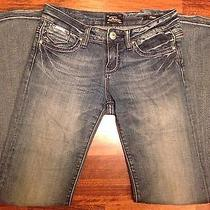 Women's Re Rock for Express Flare Jeans Stretchy Size 4 Photo