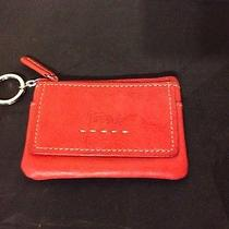 Women's Red Fossil Id Keyring Photo