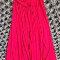 Women's Red Strapless Express Dress Size Xs Photo