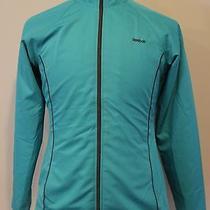 Womens Reebok Track/running Athletic Jacket Lightweightteal Medium  Photo
