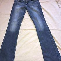Womens Regular Blue Guess Jeans 27x 32 Daredevil Bootcut Photo