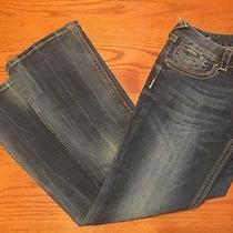 Women's Rerock Express Boot Cut Blue Jeans Sz 8 Photo