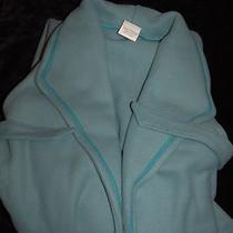 Women's Robe Norm Thompson Size Large  Aqua New Photo