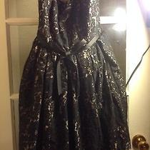 Women's Robert Rodriguez Short Formal Cocktail Dress Size 6 Preowned Photo