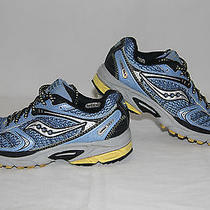 Women's Saucony Progrid Guide Tr Ii/2 Trail Running Shoes Size 8.5 M/medium Blue Photo