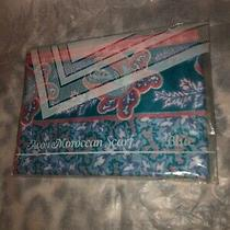 Womens Scarf Avon Moroccan  Blue Photo