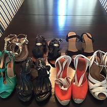 Women's Shoes J.crew Michael Kors Born Crown Miz Mooz Fossil Lot of 7 Pair Photo