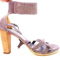 Women's Shoes Sandals Eu 40 Uk 7.5 Us 9.5 Vic Matie Grey Chamois Photo