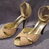 Women's Shoes - Size 7 B - Rush Houe Express - Scandal - Raffia Upper Photo