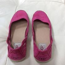 Women's Shoes Ugg Australia Cicily Nubuck Flats 1006664 Tropical Sunset Photo