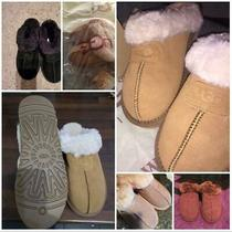 Women's Shoes Ugg Coquette Sheepskin Slippers 5125 Us Size 5 6 7 8 9 10 Photo