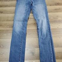 Women's Size 00 Reg Aeropostale Skinny Blue Jeans W 27 L 30 Photo