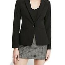 Womens Size 2 Express Design Studio Black Blazer Suit Jacket Photo