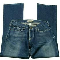 Women's Size 4 Abercrombie & Fitch Jeans Madison Boot Cut Stretch Blue Inseam 30 Photo