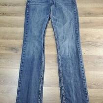 Women's Size 5/6 Aeropostale Skinny Bayla Blue Jeans W 30 L 29 Photo