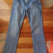 Women's Size 6 Eddie Bauer Blue Denim Jeans Photo