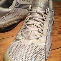Women's Size 7.5 Puma Cell White Shoes Photo