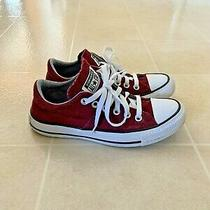 Womens Size 7 (Better Fit for 6/6.5) Maroon Converse Sneakers Photo