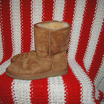 Women's Size 7 Ugg Boots 7 Brown Uggs 7 Ugg Boots 7 Low Ugg Boots 7  Photo
