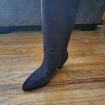 Women's Size 8 Lucky Brand Fukko Mid-Calf Boots Coffee Photo
