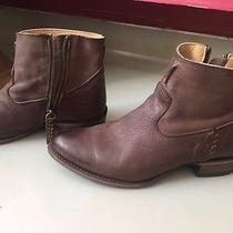 Women's Size 9 Frye Brown Booties Worn Once Photo