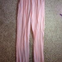 Women's Size Medium American Apparel Pink Gym Workout Running Pants Ked Photo