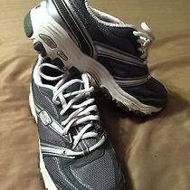 Women's Skechers Running Shoes 11608 d'lites Charcoal Gray 8 Photo