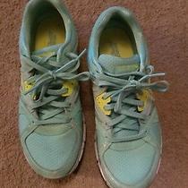 Women's Skechers Sport Mint Green Size 9 Tennis Shoes Sneakers  Photo