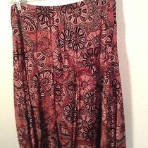 Women's Skirt-Grace Elements-Large Nylon Shell-Natural Pleats-Cute Photo