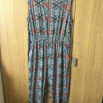 Womens Sleeveless Multi Print Jumpsuit Size 20/22 by Avon Photo
